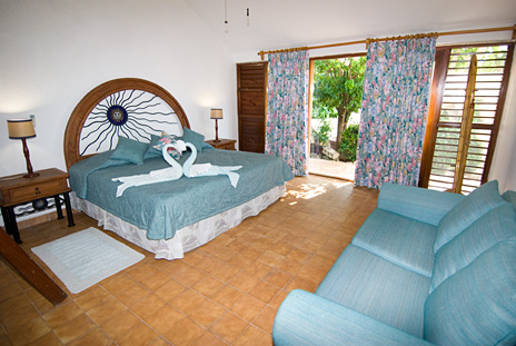 Bedroom #1 of Azul Riviera 4 BR Akumal vacation rental home