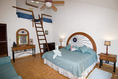 Another view of bedroom #1 of Azul Riviera 4 BR Akumal vacation rental home