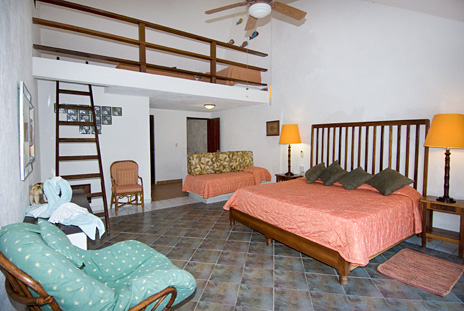 Another view of Bedroom #2 of Azul Riviera 4 BR Akumal vacation rental home