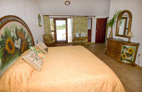 Bedroom #3 of Azul Riviera 4 BR Akumal vacation rental home