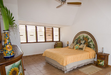 Another view of bedroom #3 of Azul Riviera 4 BR Akumal vacation rental home