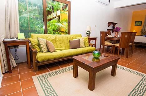 Canciones vacation rental living room