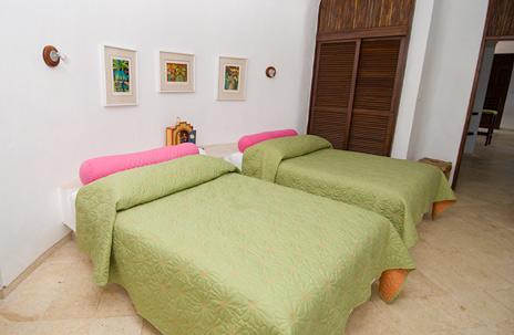 Bedroom #2 Casa Bella private vacation rental Akumal Mexico