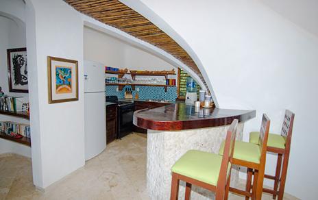 Breakfast bar at Casa Bella