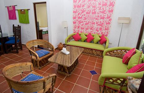 Guesthouse at Casa Bella on the Yal Ku Lagoon
