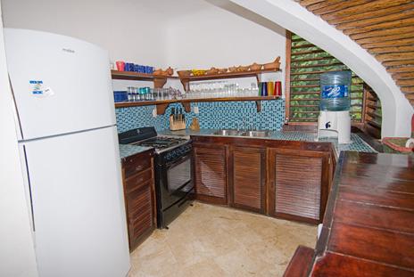 Kitchen at Casa Bella Akumal rental house
