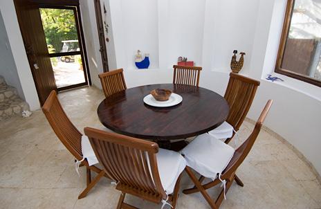Dining room Casa Bella Rivier Maya vacation rental