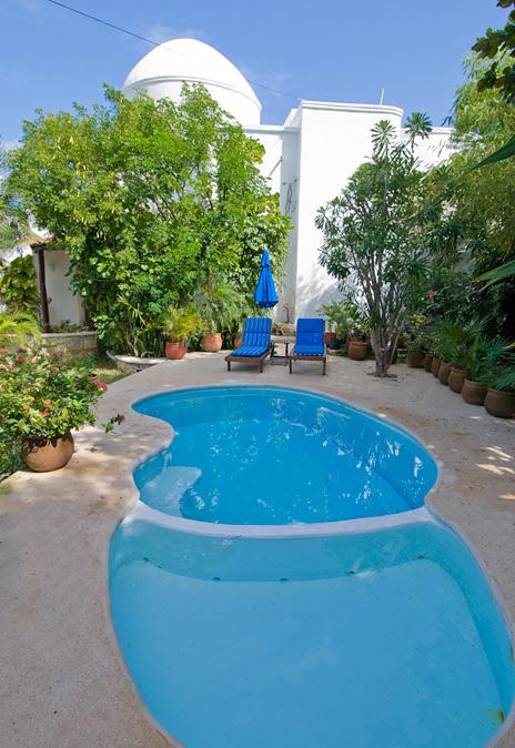 Casa Bella pool,  akumal vacation rental villa on the Riviera Maya