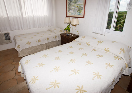 bedroom Casa del Mar, Riviera Maya vaction rental villa
