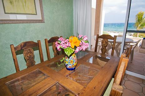 Ocean view dining, Casa del Mar, Riviera Maya vaction rental villa