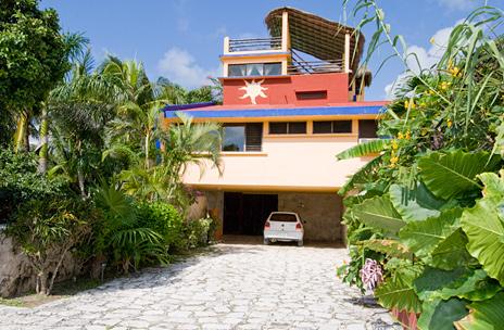 Garage, Casa del Sol Akumal vacation rental villa