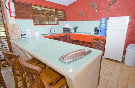 kitchen Casa del Sol Akumal vacation rental villa