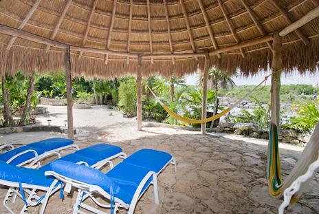 Palapa Casa del Sol Akumal vacation rental villa