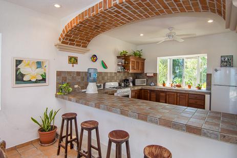 Kitchen Casa Cavu Tankah Bay, Akumal Mexico