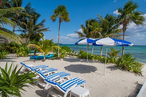 Beachfront Cavu vacation rental villa on Tankah Bay on the Riviera Maya