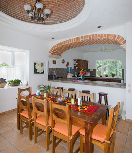 Dining Casa Cavu Tankah Bay, Akumal Mexico