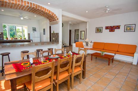 Casa Cavu, 3 BR vacation rental villa on Tankah Bay on the Riviera Maya