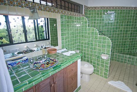 Bathroom #2 at Casa Cielo South Akumal