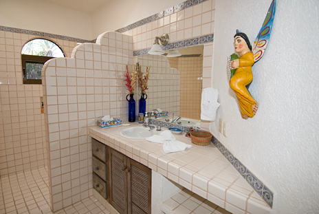 Bath #3 at Casa Cielo Akumal Sur