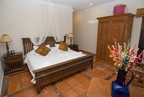 Bedroom #2 at Casa Cielo, Akumal Sur