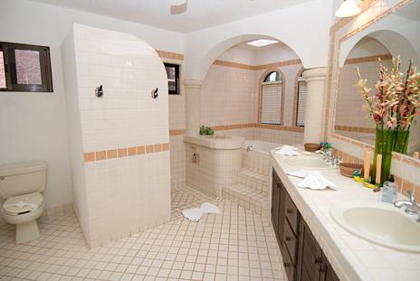 Casa Cielo master bedroom bath