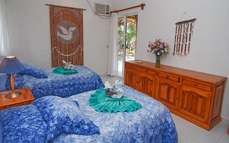 Bedroom #3 at Villa Tres Delfines Soliman Bay vacation rental property