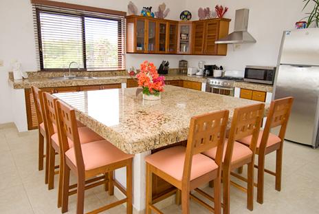... Dena Kitchen By Casa Dena 1 2 3 Or 4 Br Villa On Tankah Bay Akumal ...
