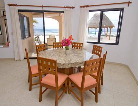 Dining room Casa Dena Tankah vacation rental