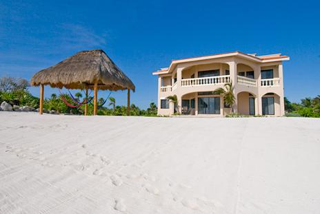 View from ocean Casa Dena Tankah vacation rental