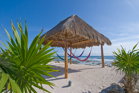 Beach front Casa Dena Tankah vacation rental