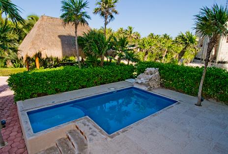 Pool Casa Dena Tankah vacation rental