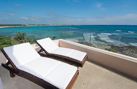 patio at Villa Fantasea