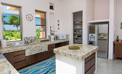 kitchen at Villa Fantasea