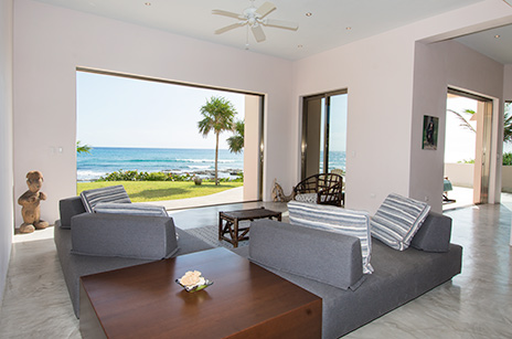 living area at Villa Fantasea