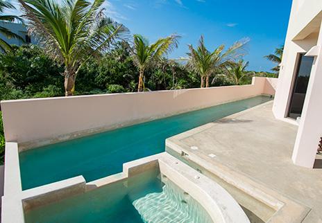 lap pool at Villa Fantasea