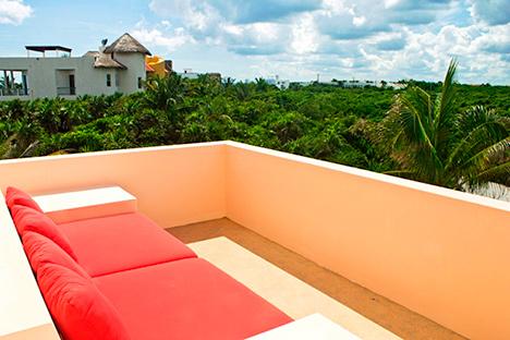 Villa Fantasea rooftop