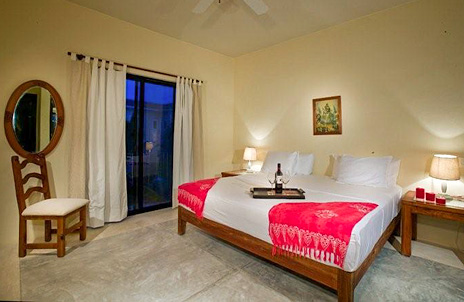 Another bedroom at hacienda del mar vacation villa on the Riviera Maya