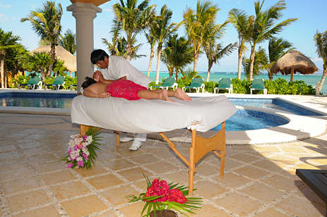 How about a soothing massage at hacienda caracol
