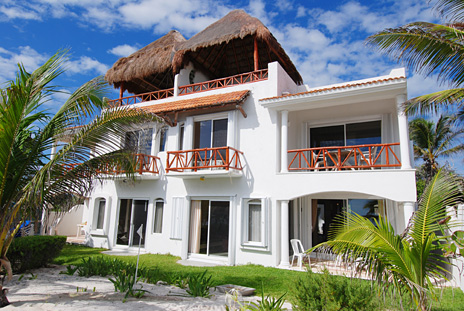 Jade Moon vacation villa located on  the Riviera Maya, Jade Beach, Mexico