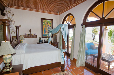 Another bedroom in Hacienda Kass  luxurious vacation villa on Soliman Bay  south of Akumal