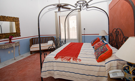 This is the third bedroom in Hacienda Kukulkan luxury villa in Puerto Aventuras