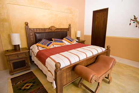 All bedrooms in Hacienda Kukulkan have king beds