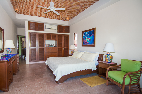 Fourth bedroom of Ka Kuxta vacation villa in South Akumal, Riviera Maya, Mexico