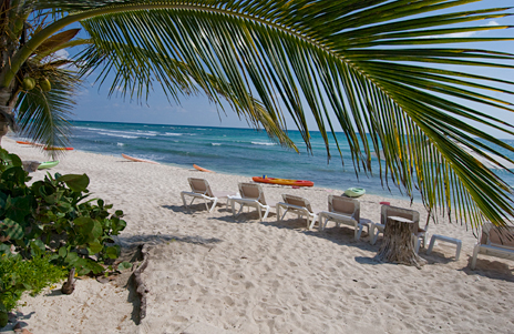 Las Villas Akumal beach view