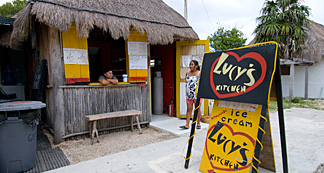 Lucy's Kitchen Akumal Mexico