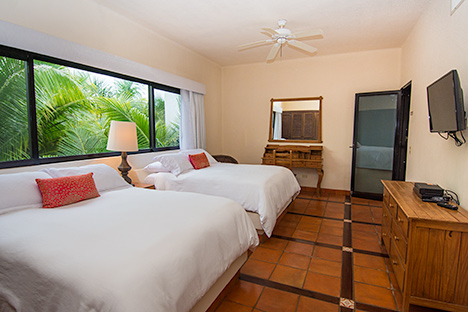 Another bedroom of Casa Magica vacation villa on Jade Bay