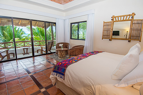 Third bedroom of Casa Magica vacation villa on Jade Bay