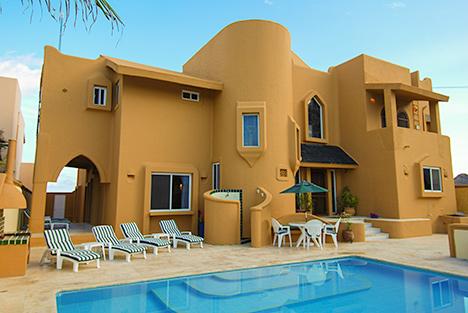 Pool Casa Magna, Akumal Mexico vacation rental villa