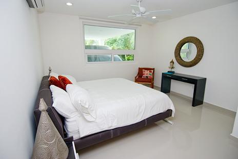 Bedroom #3 in Villa Mandala vacation rental home on the riviera maya