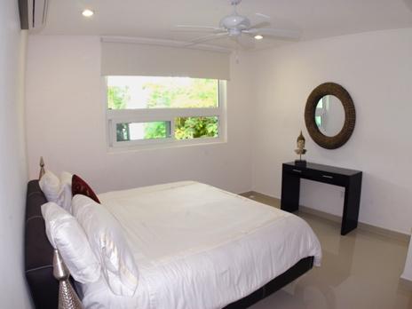 Bedroom #5 in Villa Mandala luxury vacation rental villa on Tankah Bay